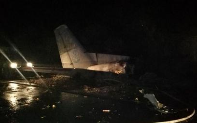 Wojskowy An-26 rozbił się na Ukrainie. Są zabici i ranni