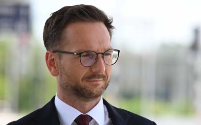 Wiceminister funduszy i polityki regionalnej Waldemar Buda