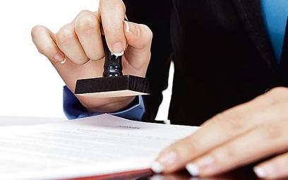 Pieczęć potwierdza autentyczność pism i dokumentów