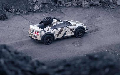 Nissan GT-R Offroad: Inny rodzaj szaleństwa