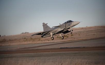 Start wielozadaniowego samolotu bojowego JAS-39E Gripen NG. Fot. Saab