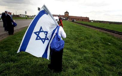 Turyści z Izraela w Oświęcimiu