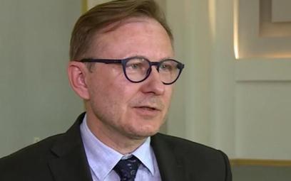 Marcin Danił, wiceprezes ds. korporacyjnych w Mazowieckim Porcie Lotniczym Warszawa Modlin.