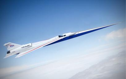 Komercyjne loty X-59, cichym naddźwiękowym samolotem, mają być możliwe już za kilka lat. Testy ruszą