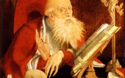 """Marinus van Reymerswaele, """"Święty Hieronim w pracowni"""""""