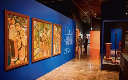 Wystawa pokazuje m. in. wpływ huculszczyzny na polską sztukę sprzed ponad wieku
