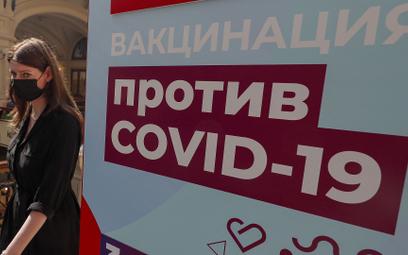 W Rosji nieszczepieni mogą być zawieszeni w pracy. Jest decyzja