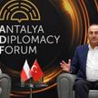 Minister spraw zagranicznych RP Zbigniew Rau podczas spotkania z szefem dyplomacji Turcji Mevlutem C