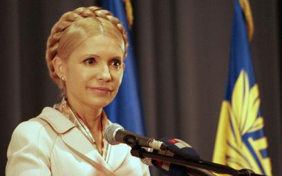 Julia Tymoszenko prowadzi w sondażu na Ukrainie