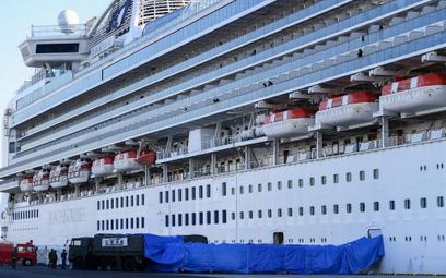 """Japonia: 130 przypadków koronawirusa na statku """"Diamond Princess"""""""