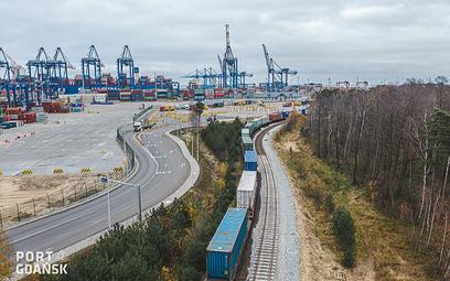 Gdańsk połączony koleją z Chinami