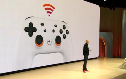 Phil Harrison, wiceszef Google, prezentuje nową usługę