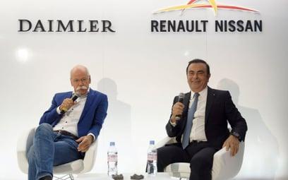 Koniec współpracy Daimlera z sojuszem Renault-Nissan