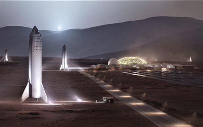 Musk twierdzi, że SpaceX doleci na Marsa przed 2030
