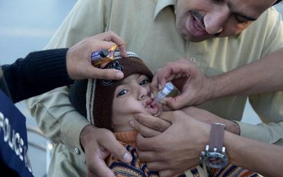 Rekord zachorowań na polio w Pakistanie