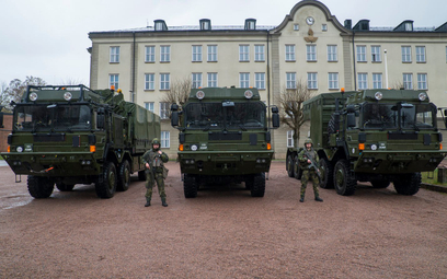 Szwecja odebrała pierwsze elementy systemu Patriot