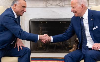 Prezydent Joe Biden zapowiedział koniec misji bojowej w Iraku