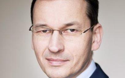 Mateusz Morawiecki, wicepremier, minister rozwoju i finansów.