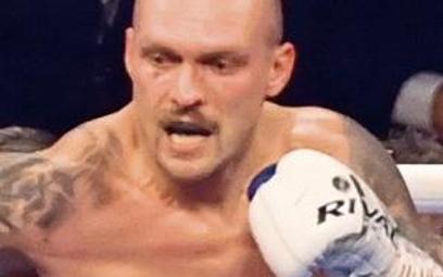 Ołeksandr Usyk w ostatniej rundzie zadał 29 celnych ciosów