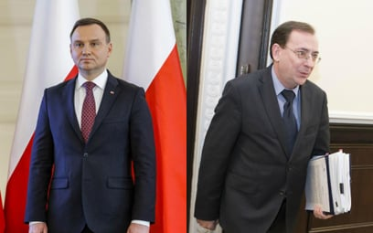 Andrzej Duda i Mariusz Kamiński
