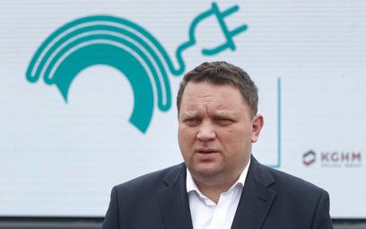 Prezes KGHM, Marcin Chludziński