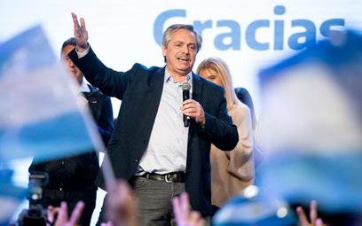 Prawdziwym zwycięzcą prawyborów nie jest Alberto Fernandez (na zdjęciu), tylko jego zastępczyni Cris