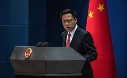 Zhao Lijian, rzecznik MSZ Chin