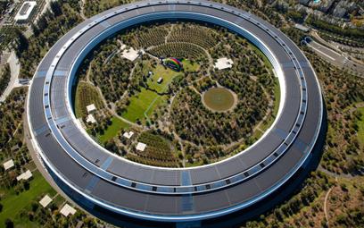 Charakterystyczna siedziba Apple w Cupertino w Kalifornii ma formę koła
