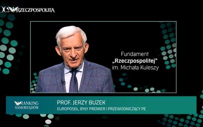 """Jerzy Buzek tegorocznym Laureatem  Nagrody """"Fundament Rzeczpospolitej""""  im. Michała Kuleszy"""