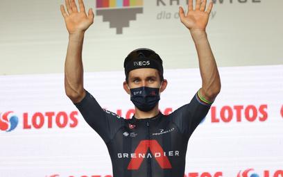 TdP: Michał Kwiatkowski trzeci w klasyfikacji generalnej