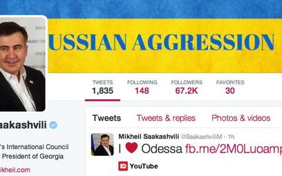 Micheil Saakaszwili już wyznał Odessie miłość