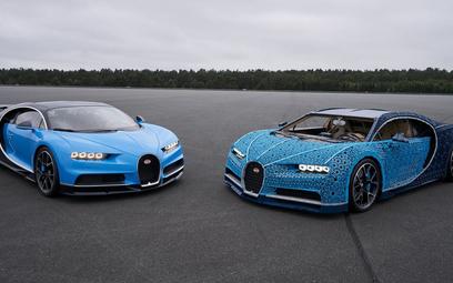 Lego Bugatti Chiron: Zbudowany z miliona klocków