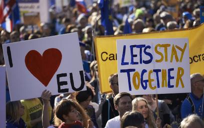 Bielecki: Brexit wyprowadził ludzi na ulice Londynu