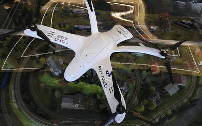 Bezzałogowiec Bielik od firmy Drone House chroni ładunki PKP Cargo.