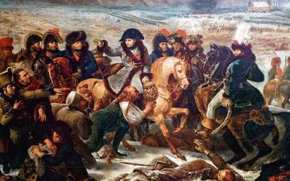 """""""Napoleon na polu bitwy pod Pruską Iławą"""", obraz Antoine'a-Jeana Grosa z1808 r."""