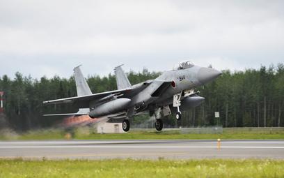 Samolot myśliwski Boeing F-15J Japońskich Powietrznych Sił Samoobrony. Fot./USAF.