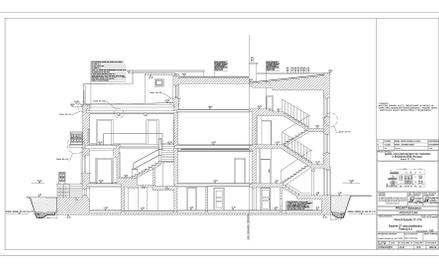 Zamieszczone w internecie plany rządowej willi to m.in. pionowe przekroje budynku