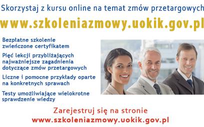 Szkolenia UOKiK dot. prawa konkurencji w zamówieniach publicznych