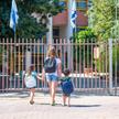 Dzieci idące do szkoły w Izraelu