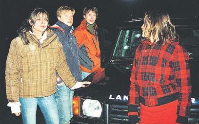 Od lewej: Karolina Gorczyca, Kuba Wesołowski, Paweł Tomaszewski i Katarzyna Maciąg