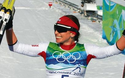 Srebrny sprint Justyny Kowalczyk