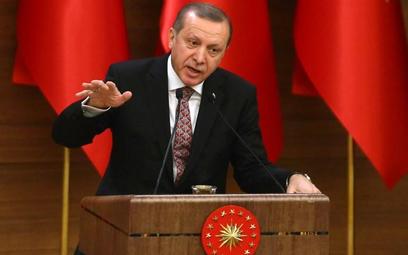 Prezydent Turcji RecepTayyip Erdogan